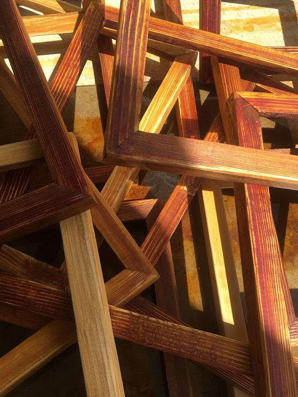 خط و چوب در تصویرگری